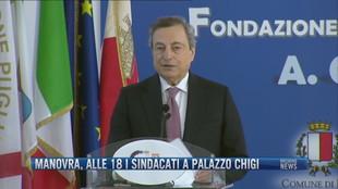 Breaking News delle 17.00 | Manovra, alle 18 i sindacati a Palazzo Chigi