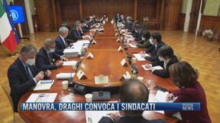 Breaking News delle 18.00 | Manovra, Draghi convoca i sindacati