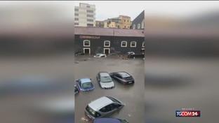 Nubifragio su Catania, una vittima
