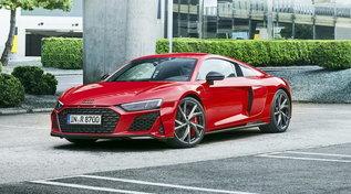 L'Audi R8 di derivazione racing