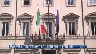 Breaking News delle 11.00 | Manovra, proseguono colloqui sulle pensioni