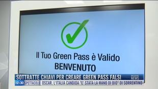 Breaking News delle 12.00 | Sottratte chiavi per creare green pass falsi