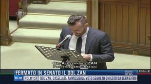 Breaking News delle 16.00 | Fermato in Senato il Ddl Zan