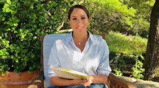 Meghan Markle legge il suo primo libro per bambini