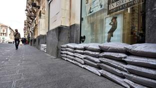 Maltempo, la città diCatania si prepara all'arrivo del ciclone