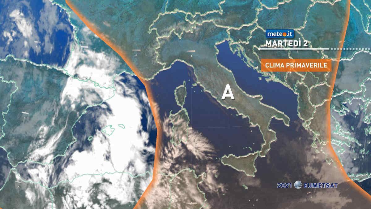 Meteo, sole quasi ovunque: condizioni stabili e clima mite | Ma a metà settimana si cambia