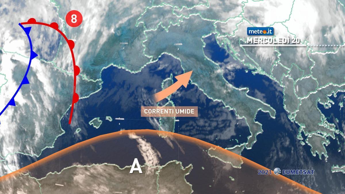 Meteo, fase di maltempo sull'Italia: in arrivo una nuova perturbazione