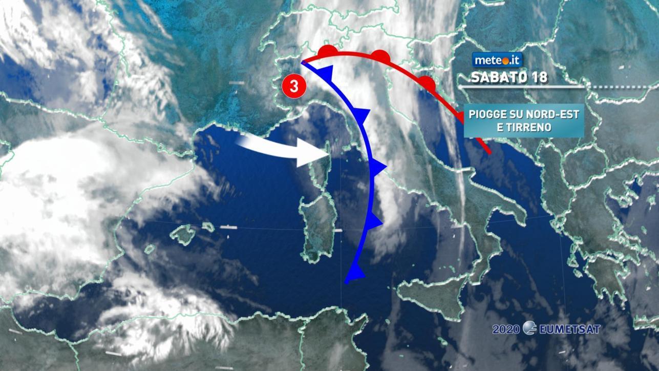 Aria fredda e temperature in calo al Centro-Nord, ma da lunedì torna l'alta pressione | Meteo