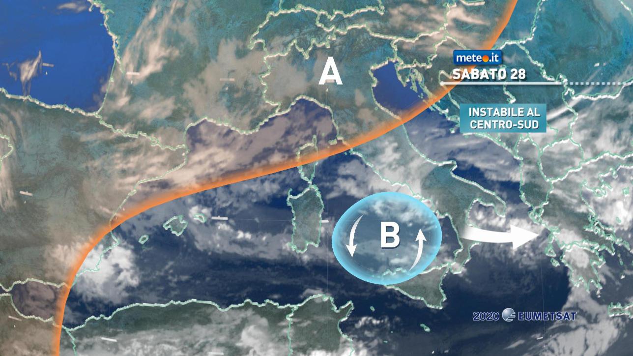 Migliora al Centrosud, ma in arrivo ancora maltempo e clima invernale